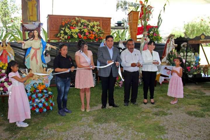"""Celebran en """"Santiago Cuaula"""" y """"San Cristóbal Zacacalco"""" Fiestas Patronales"""
