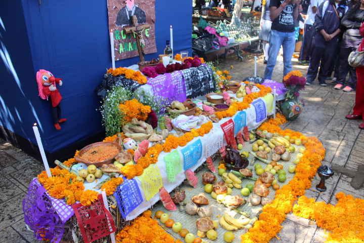 En Huamantla se celebra a la Muerte