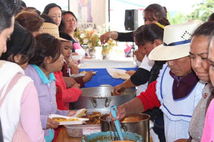 Se lleva a cabo Muestra Gastronómica de hongos en Huamantla