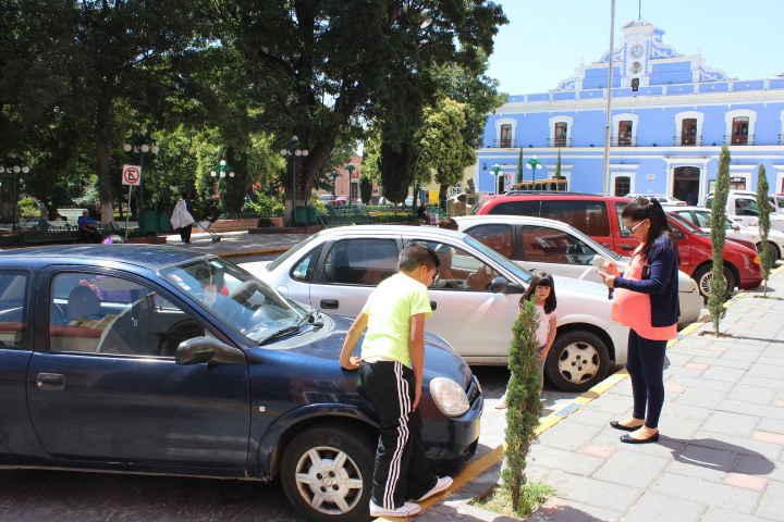 Determina Cabildo de Huamantla la ampliación de servicio de Parkimovil