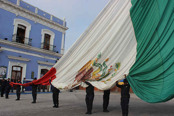 Conmemoran en Huamantla la Batalla del 5 de Mayo