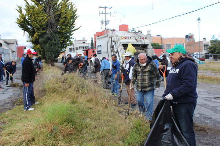 Más de 100 toneladas de basura en 48 jornadas en Huamantla
