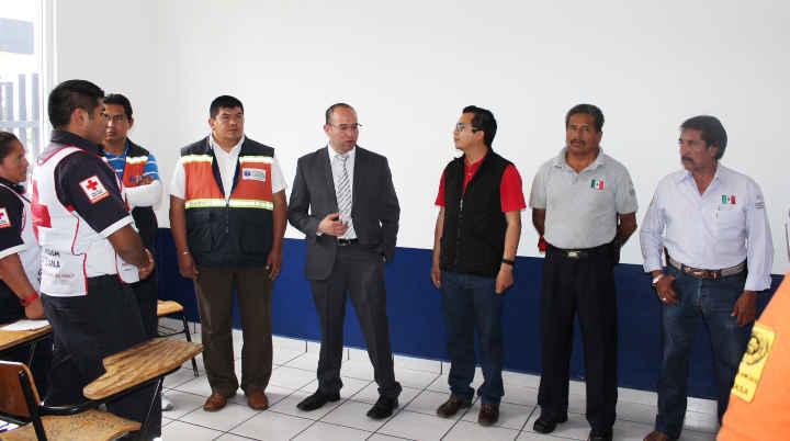 Lleva a cabo Protección Civil de Huamantla Curso -Taller de atención y traslado de lesionados por trauma taurino