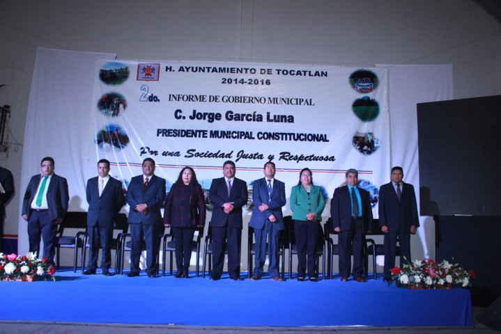 García Luna rinde su 2do informe ante la ciudadanía