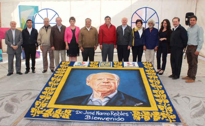 Nombran en Huamantla visitante distinguido a José Narro Robles