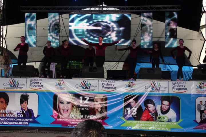 Calpulalpan impulsa talentos locales en Feria Patronal 2016