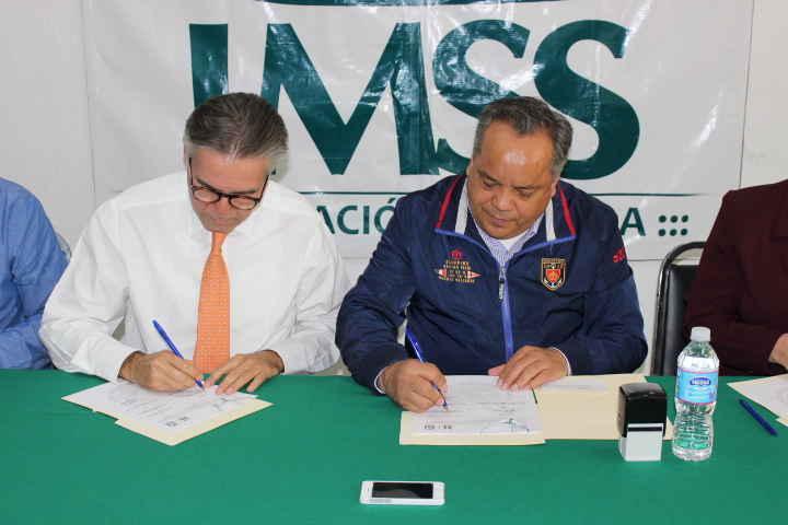 Ayuntamiento de Huamantla realiza Convenio de Colaboración con el Instituto Mexicano del Seguro Social