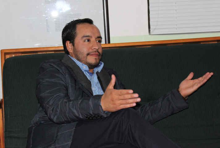 Levanta la mano Pablo Badillo por el distrito IV de Apizaco