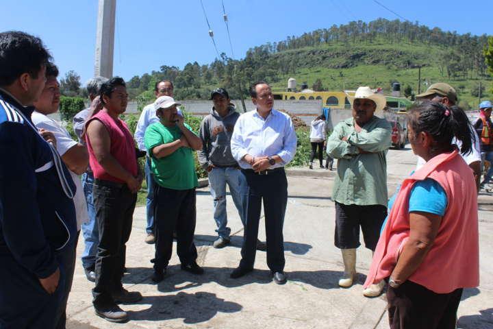 Barranco inició obra para mejoramiento de Atoyatenco