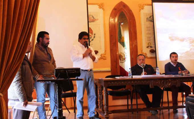 Ayuntamiento de Huamantla y SEFOA anuncian convocatoria para entrega de fertilizantes 2016