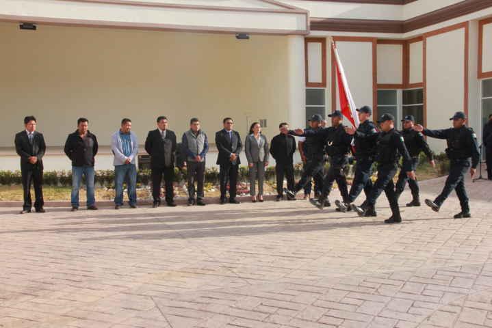 Alcalde HCG encabeza Homenaje Cívico del Ayto. de Tepetitla