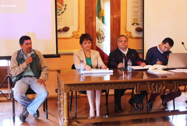 Toma protesta nuevo presidente de la comunidad de Morelos