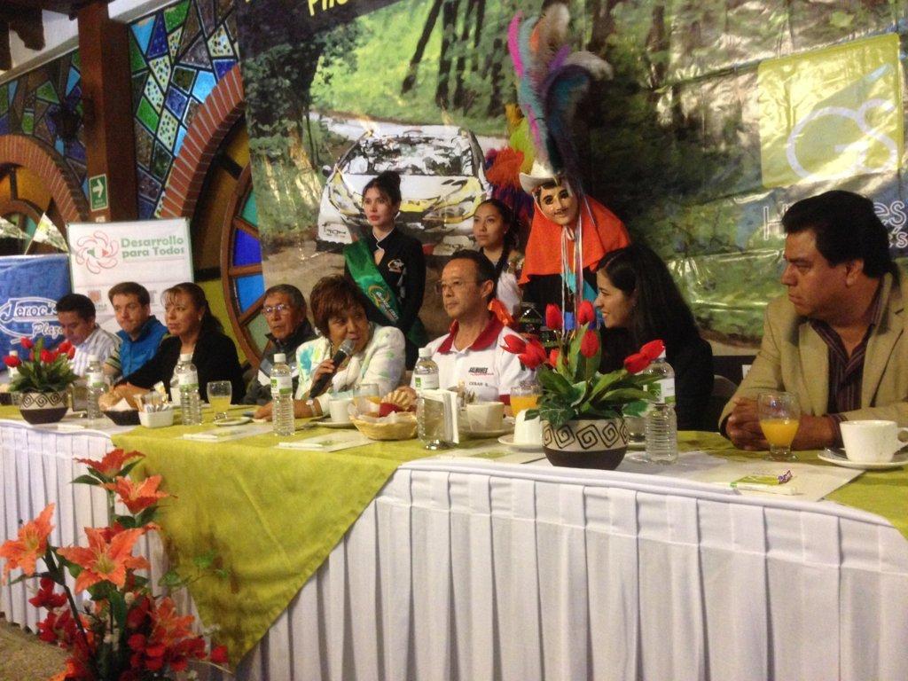Presentan el Rally Jerocs 2015 en Tlaxcala