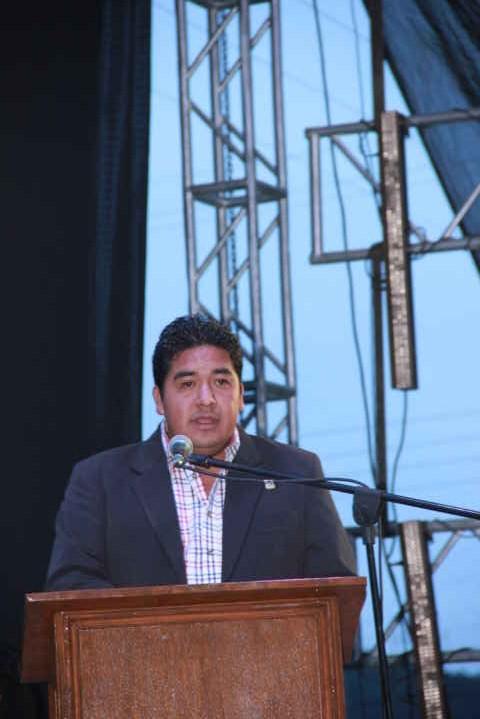 Alcalde afirma transparencia al entregar su cuenta pública