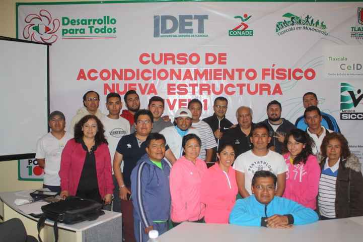 Organiza Idet capacitación de Acondicionamiento Físico y entrenamiento deportivo