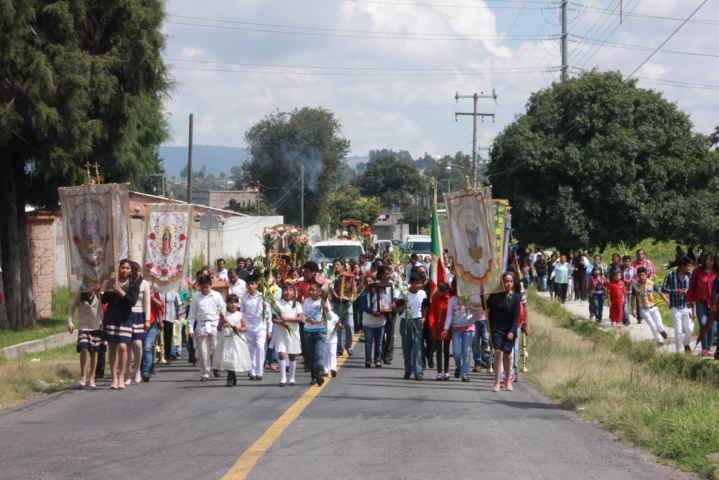 Después de 8 años de haber sido robados de la iglesia, ocho Querubines regresan a  Xiloxoxtla