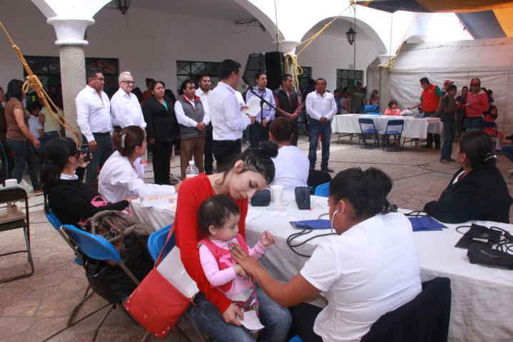 """Realizan en Xaloztoc 2da """"Jornada por la Salud en tu Comunidad"""""""