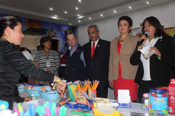 Inauguran en Huamantla Feria de Regreso a Clases
