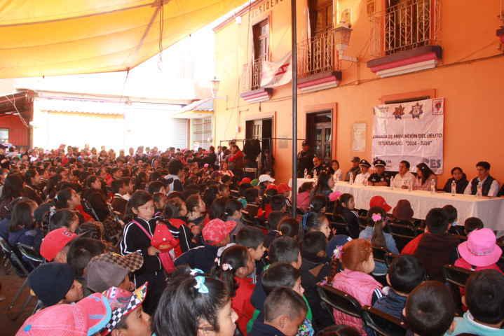 Con éxito se realizó la Jornada de Prevención del Delito en Tetlatlahuca