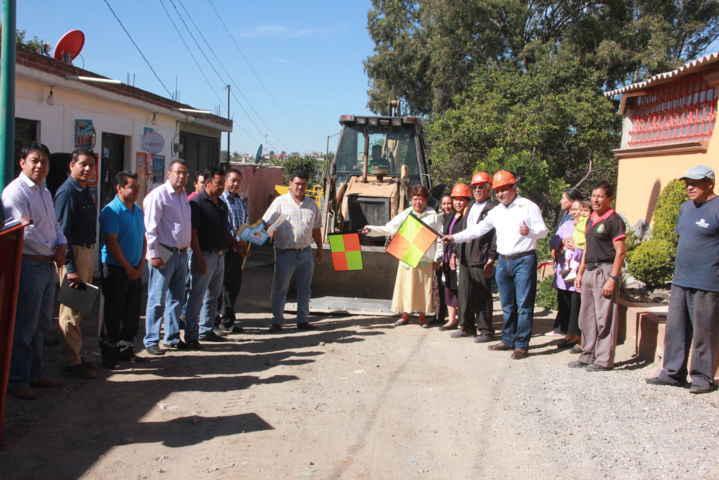Inaugura alcalde de Tepetitla, obras de impacto en beneficio de la población  por casi un millón de pesos