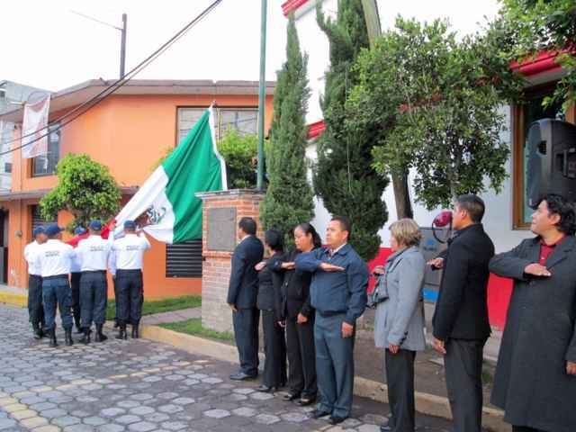Conmemoraron en Tetlanohcan a Niños Héroes de Chapultepec