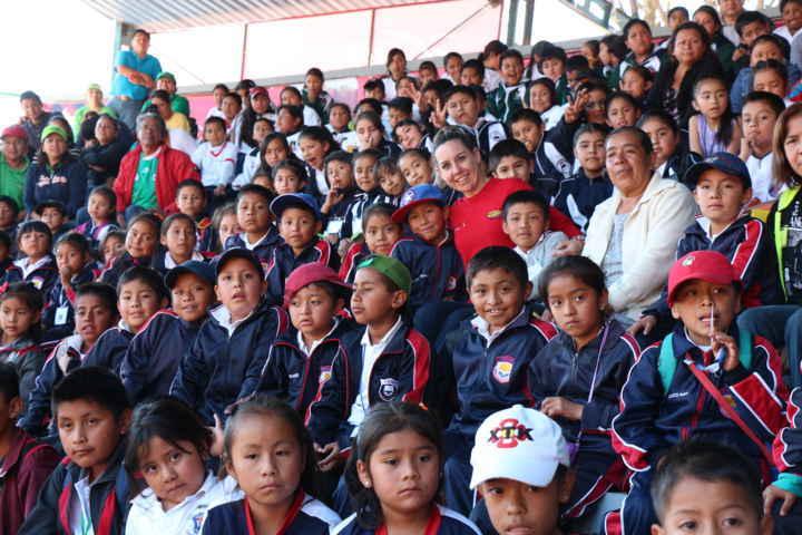 "Visitan 268 infantes de Contla ""Tlaxcala, La Feria 2015"""