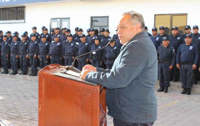 """""""Una ciudadanía protegida por policías capacitados y comprometidos"""": JAAL"""