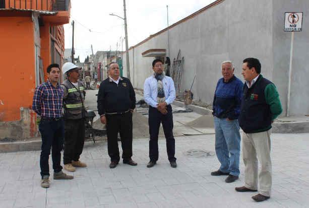 Detalles mínimos para la entrega de Plazuelas rehabilitadas en Huamantla