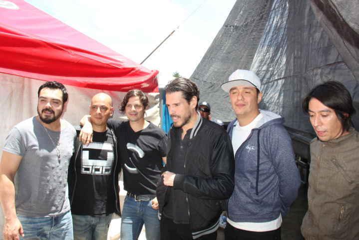 "Banda de Rock DLD ""Prende"" a Calpulalpenses en su Feria Patronal"