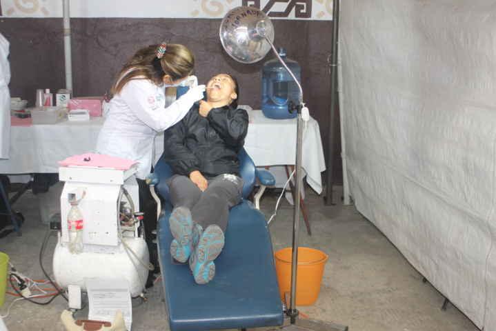 Agradecen ciudadanos de Tetla la realización de las Jornadas de la Salud