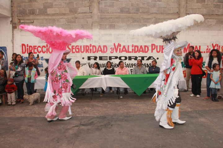 Acude alcalde a las fiestas carnavalescas Xiloxoxtla 2016