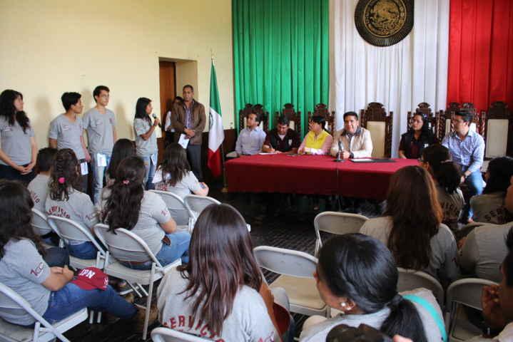 Culmina con éxito SS Comunitario del IPN en Calpulalpan