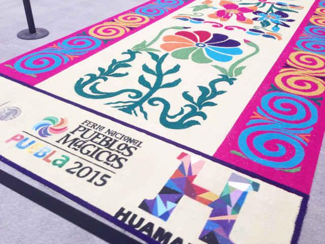 Reconocen participación de Huamantla en Feria de Pueblos Mágicos