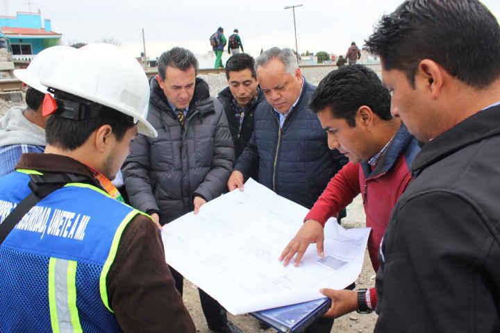 Supervisa JAAL obras en el municipio