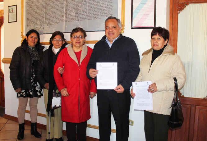 Reafirma alcalde de Huamantla apoyo para Adultos Mayores