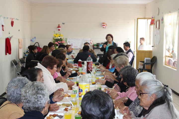 Ayuntamiento de Huamantla  celebra a los abuelitos en su día