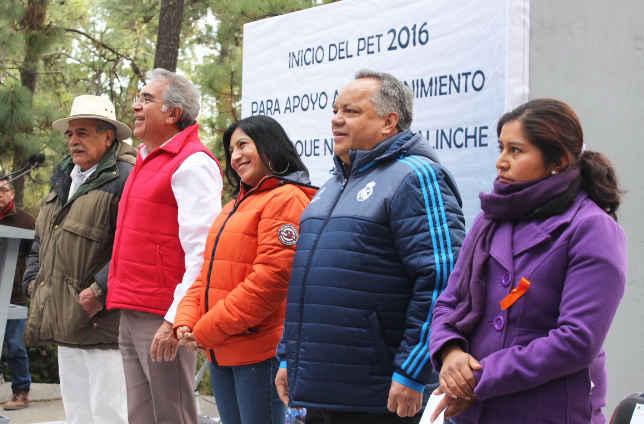 Inicia Programa de Empleo Temporal  2016  en La Malinche