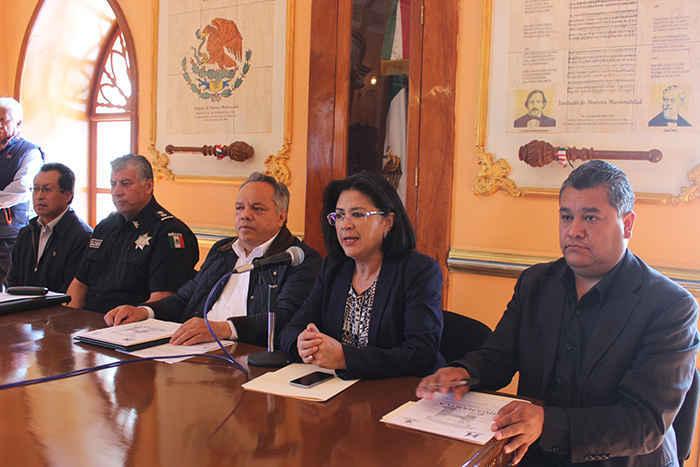 Huamantla primer municipio en el estado a la vanguardia contra el delito