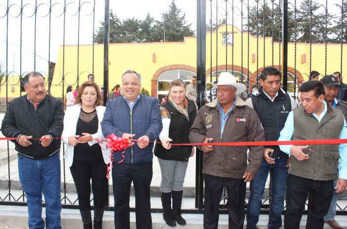 Realizan remodelación de Casa del Campesino en Huamantla
