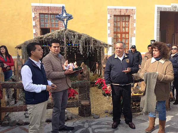 Realiza Ayuntamiento de Huamantla convivio de fin de año
