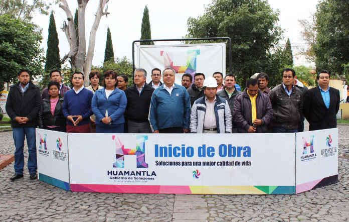 Inicia ayuntamiento de Huamantla programa de rehabilitación de plazuelas y parques