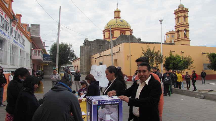 Serafín Hernández gana elección interna del PRD en Amaxac