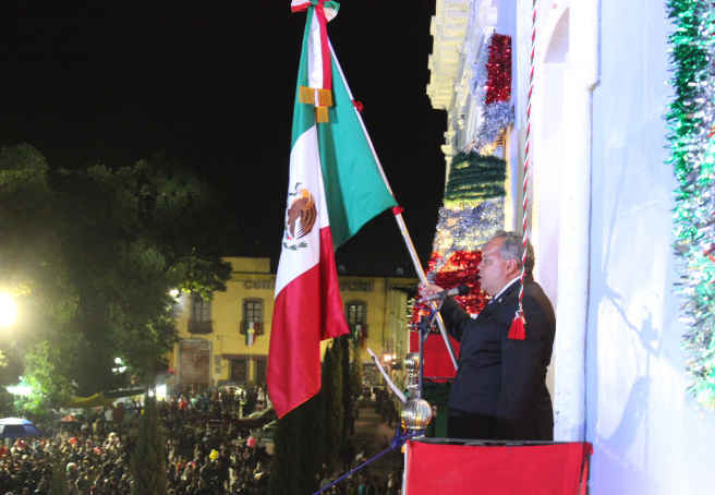 En Huamantla conmemoran el CCV Aniversario de la independencia de México