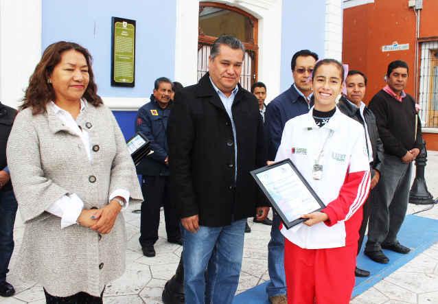 Reconoce Gobierno Municipal  talento de la juventud Huamantleca
