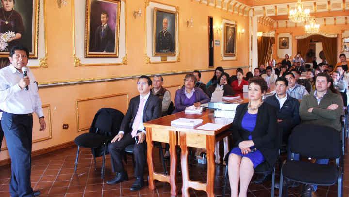 """Verifican al Ayuntamiento de Huamantla dentro del programa federal: """"La Agenda para el Desarrollo Municipal"""""""