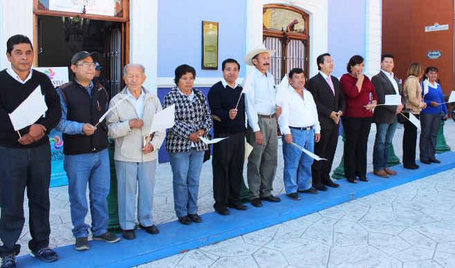 Marchan por el día mundial de la Paz en Huamantla