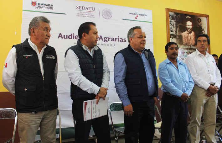 Realiza Huamantla Audiencia Agraria para escuchar a productores
