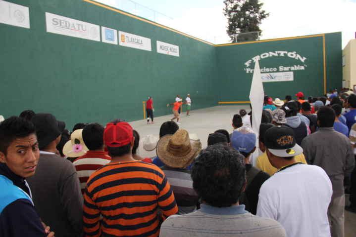 Gran exhibición de Pelotaris Nacionales en nuevo Frontón de Calpulalpan