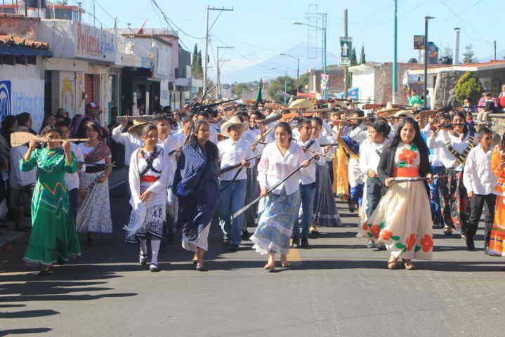 Tetla conmemora 105 Aniversario de la Revolución Mexicana