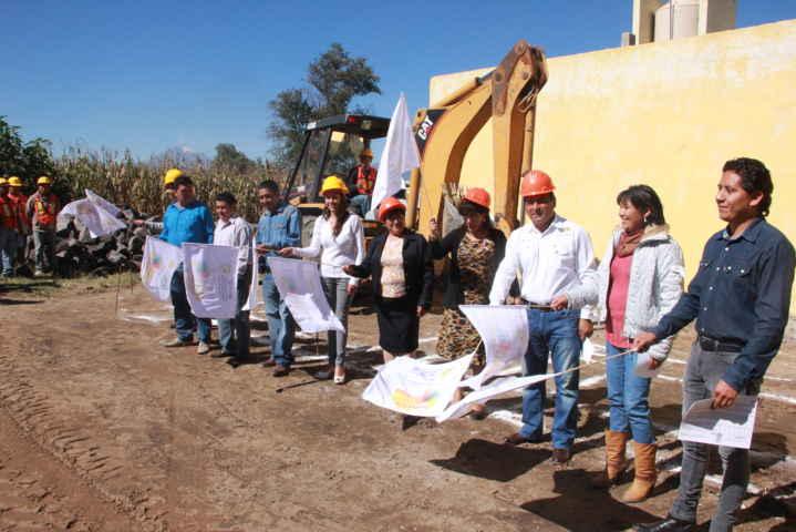 Con una inversión bipartita inician los trabajos de la ampliación de la UBR en Tepetitla